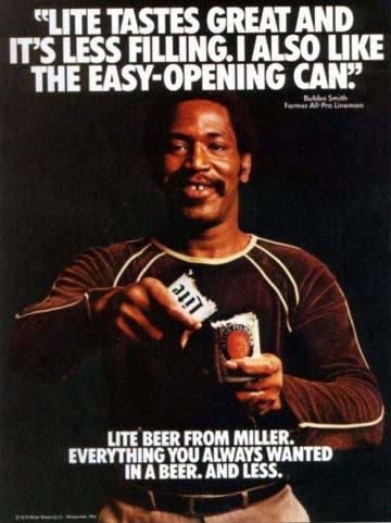 Реклама бренда Miller Lite