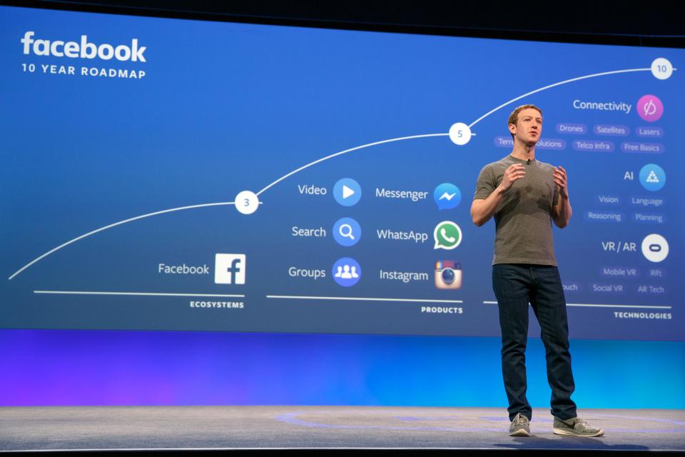 Facebook VR и AR в маркетинге