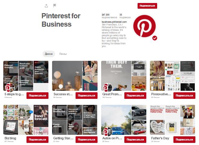 Как работает Pinterest для вашего бизнеса