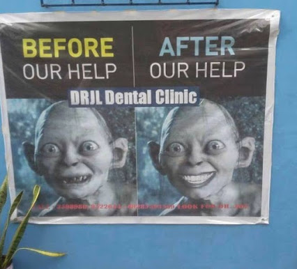 Реклама с помощью мема Голлум DRJL