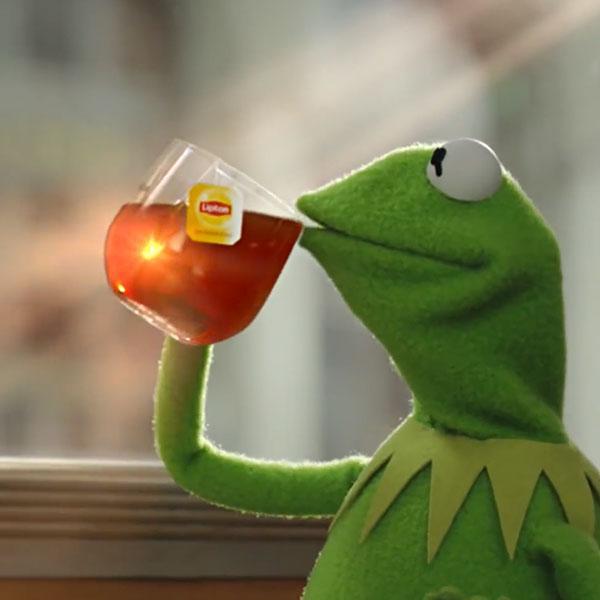 "Мем ""But That's None of My Business"" в рекламе Lipton"