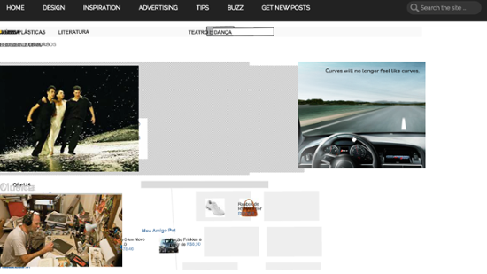 Реклама баннера созданная Almap BBDO для Audi