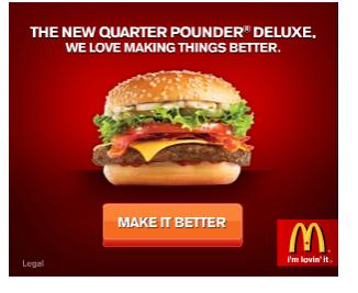Баннер McDonalds
