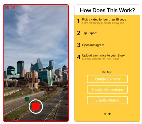 Приложение Storeo for Instagram упрощает публикацию видео для историй