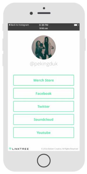 Полезный сервис чтобы добавить больше ссылок в профиль Instagram