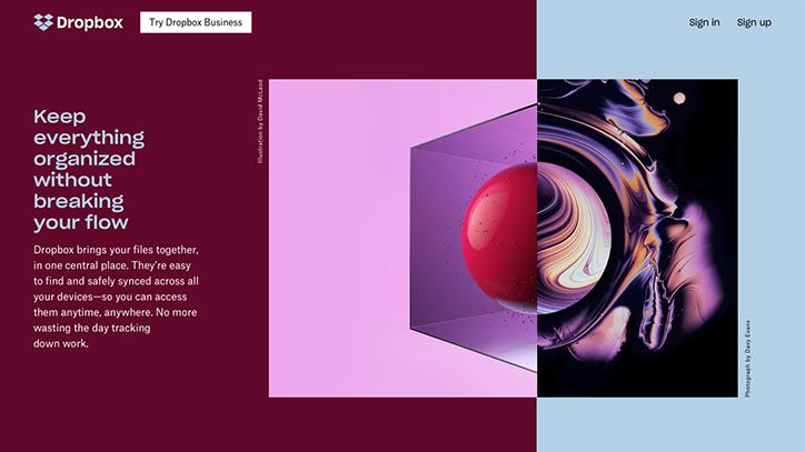 Сочетания ярких цветов и влияние на дизайн социальных сетей