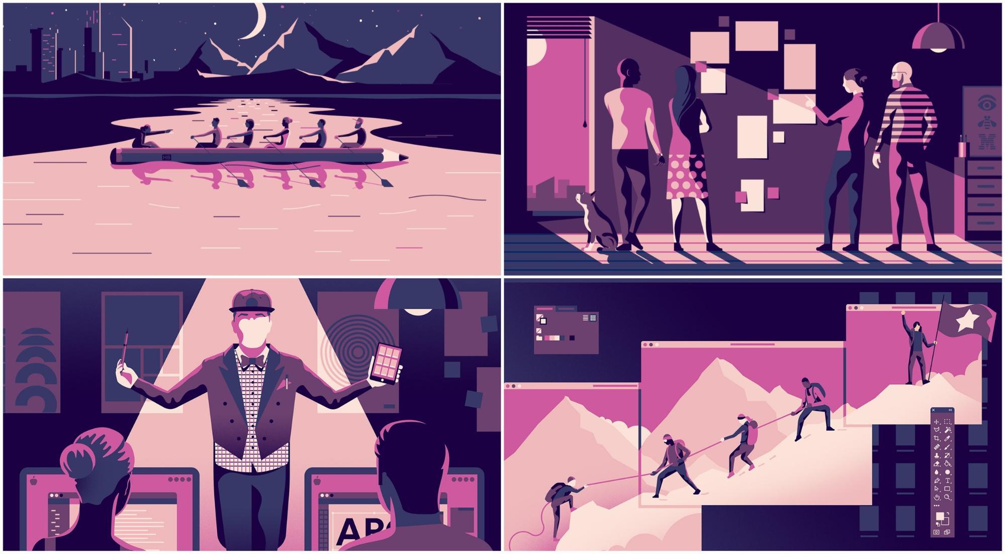 Использование иллюстраций в публикациях для привлечения внимания