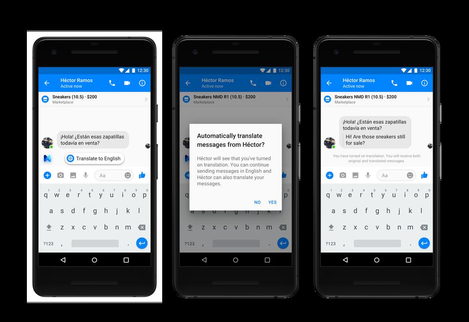 Анонс обновления Facebook Messenger