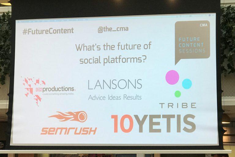 The Content Marketing Association провела конференцию и рассказала про будущее контента и тренды