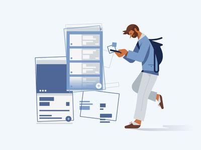 Поиск работы в социальных сетях, используем чтобы найти лучший вариант