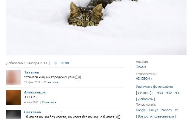 Расширение VkOpt для работы в Вконтакте