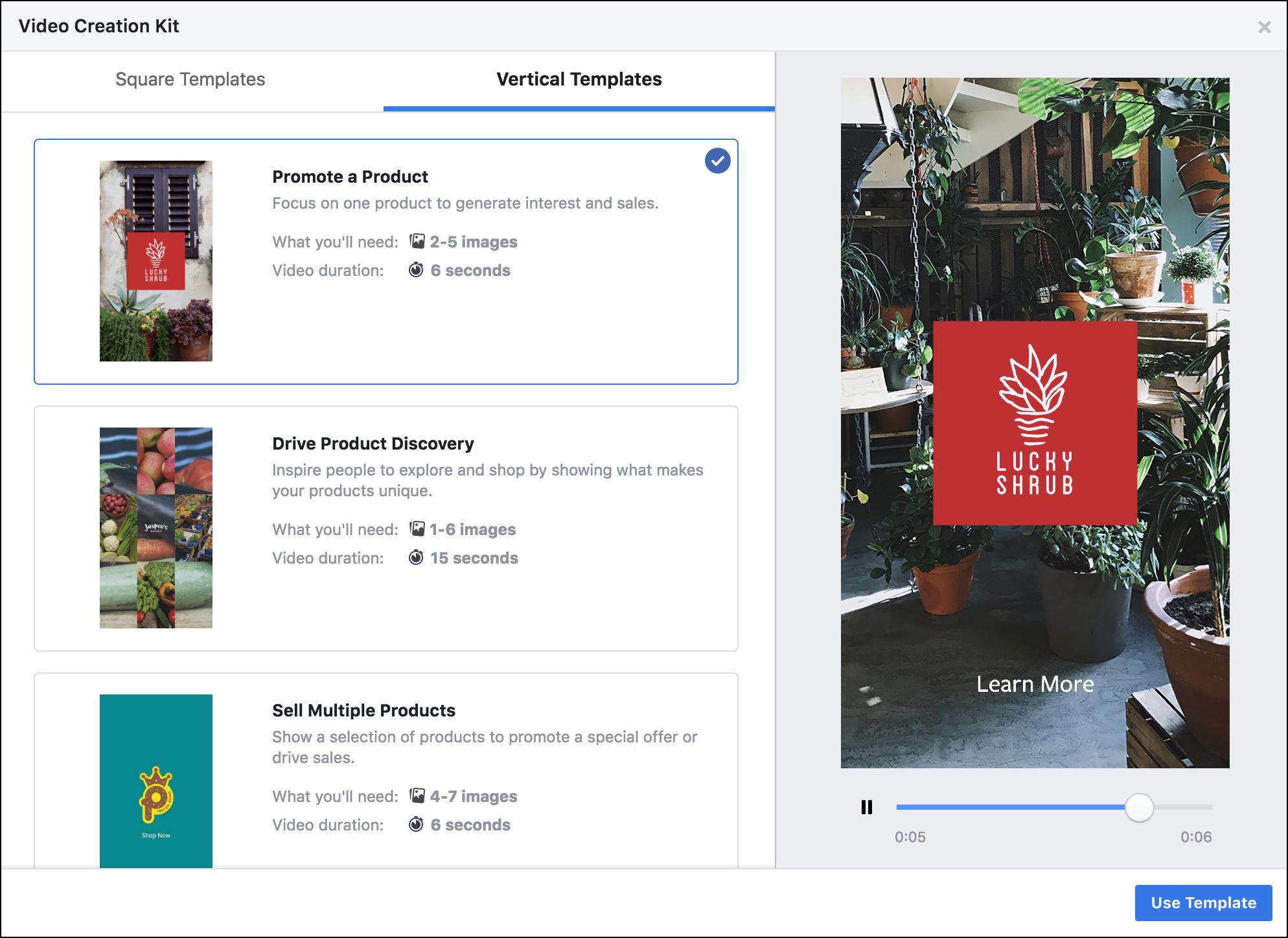 Video Creation Kit поможет создавать простые рекламные ролики в Facebook