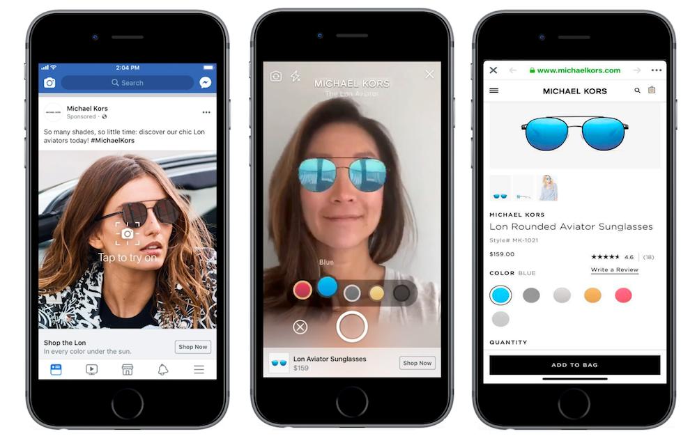 Дополненная реальность в рекламе и новые возможности для SMM в Facebook