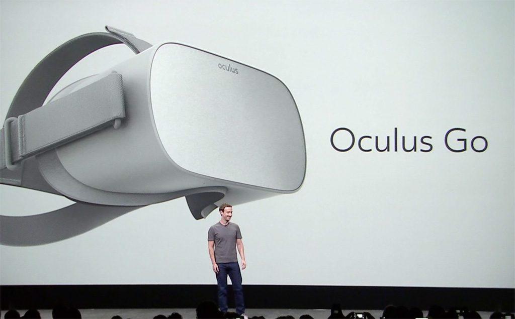 Шлем виртуальной реальности от Facebook Oculus Go